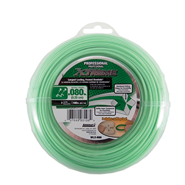 Picture of Arnold Xtreme Professional WLX-H80 Trimmer Line, 0.08 in Dia, 140 ft L, Monofilament