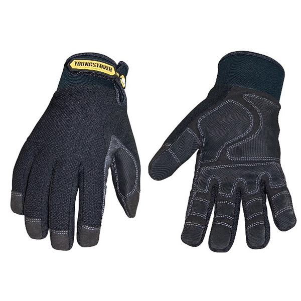 Picture of Youngstown Glove 03-3450-80-L Insulated Work Gloves, Men's, L, 9 to 9-1/2 in L, Wing Thumb, Hook-and-Loop Cuff