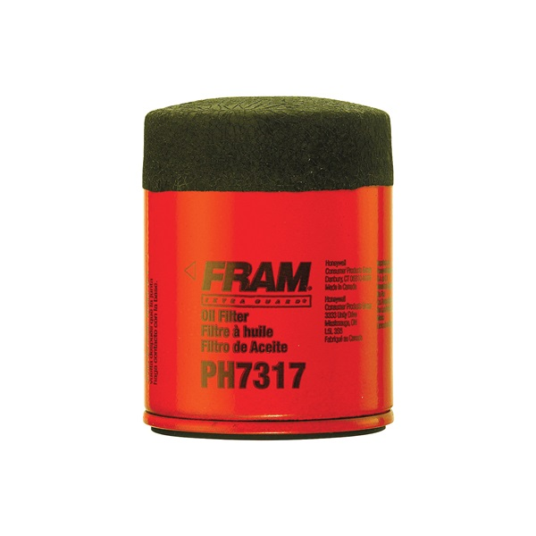 Picture of FRAM PH7317 Full-Flow Lube Oil Filter, 20 x 1.5 mm Connection, Threaded, Cellulose, Synthetic Glass Filter Media