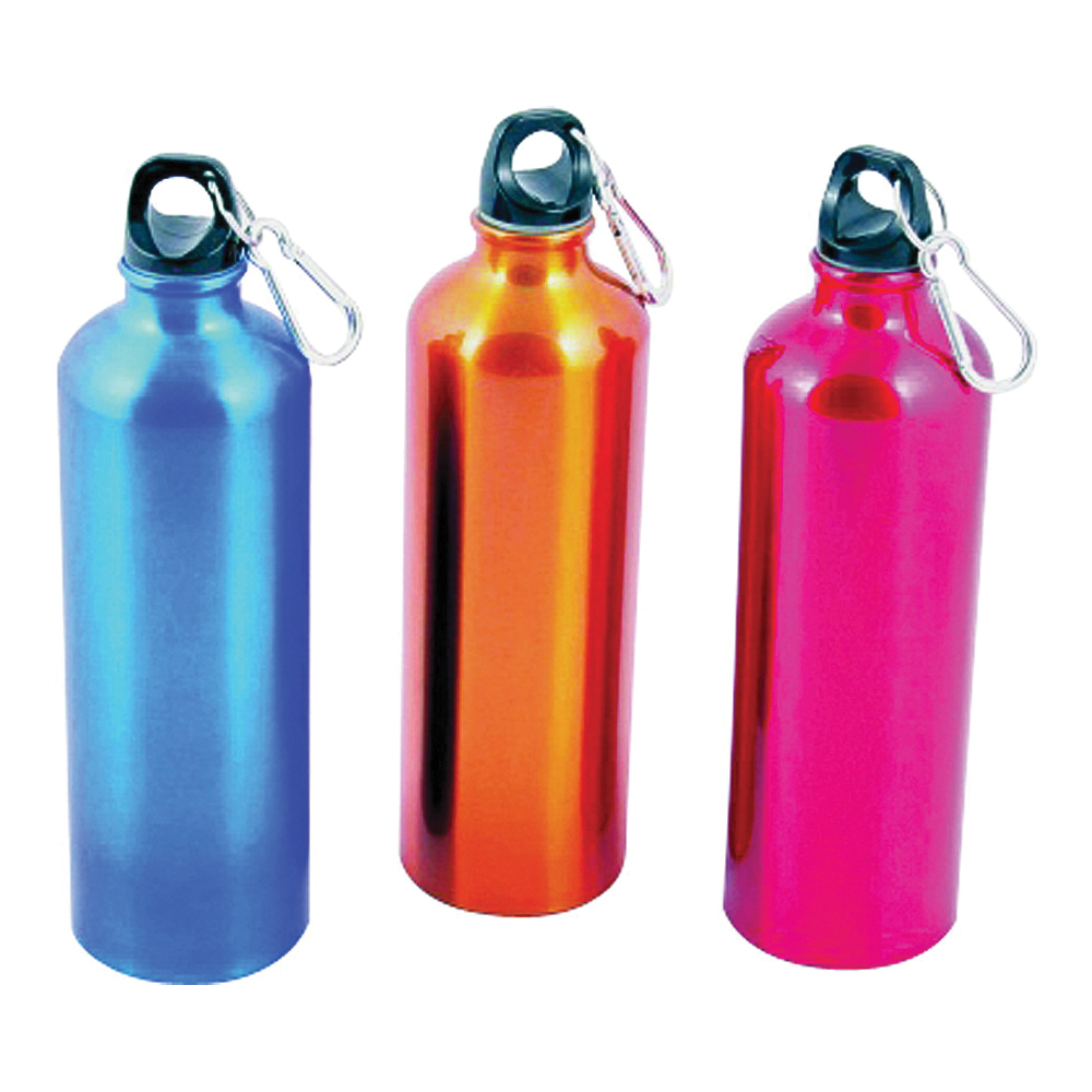 Picture of CHEF CRAFT 21657 Water Bottle, 25 oz Capacity, Aluminum