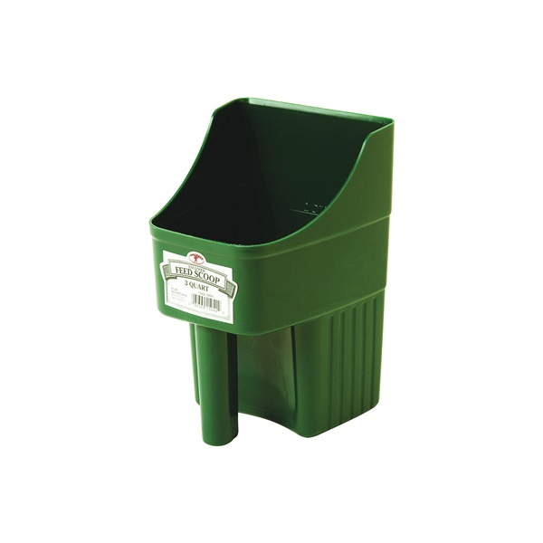 Picture of Little Giant 150422 Feed Scoop, 3 qt Capacity, Polypropylene, Green, 6-1/4 in L