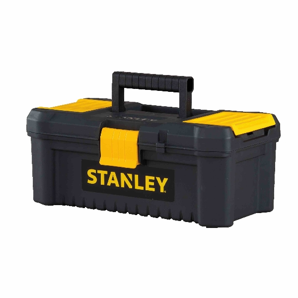 Picture of STANLEY Essential STST13331 Tool Box, 213.6 cu-in, Polypropylene, Black/Yellow