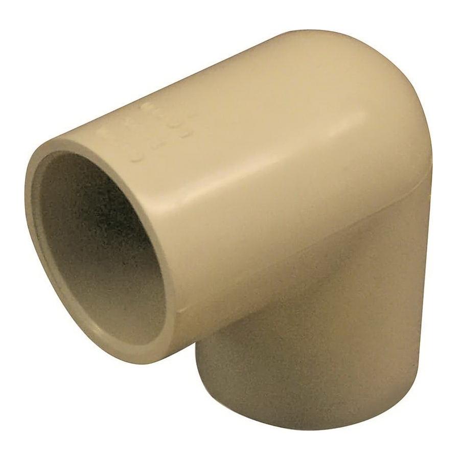 Picture of GENOVA 500 50710 Slip Elbow, 1 in, Slip-Joint x Slip, 90 deg Angle, CPVC, 400 psi Pressure