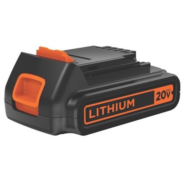 Picture of Black+Decker LBXR20 Battery Pack, 20 V Battery, 1.5 Ah