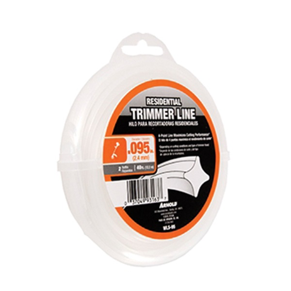Picture of ARNOLD WLS-95 Trimmer Line, 0.095 in Dia, 40 ft L, Nylon