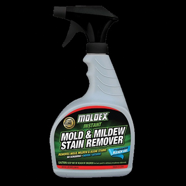 Picture of MOLDEX 7010 Instant Mold and Mildew Stain Remover, 32 oz Package, Bottle, Liquid, Mild, Clear