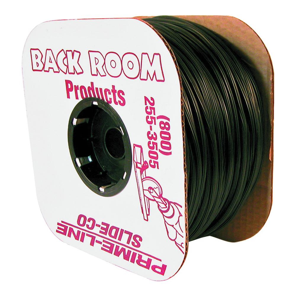 Picture of Make-2-Fit P7568 Screen Retainer Spline, 500 ft L, Vinyl, Black, Round