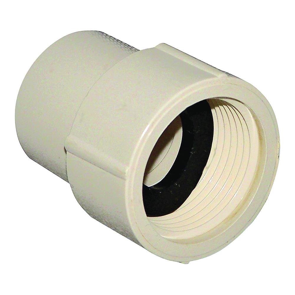 Picture of GENOVA 500 50310 Pipe Adapter, 1 in, Slip x FIP, CPVC, 100 psi Pressure