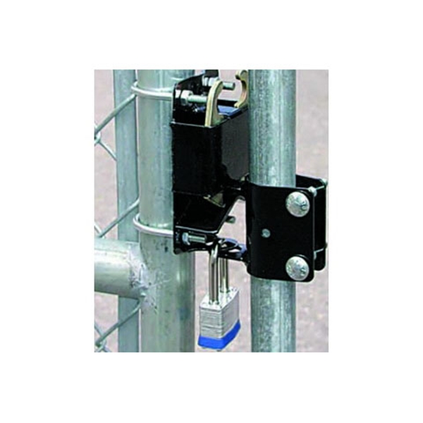 Picture of SpeeCo S16100700 Gate Latch, 2-Way Lockable, Black, For: 1-1/4 to 1-1/2 in OD Round Tube Gate