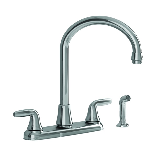Picture of American Standard Jocelyn 9316.451.002 Kitchen Faucet with Side Spray, 1.8 gpm, 2-Faucet Handle, Brass