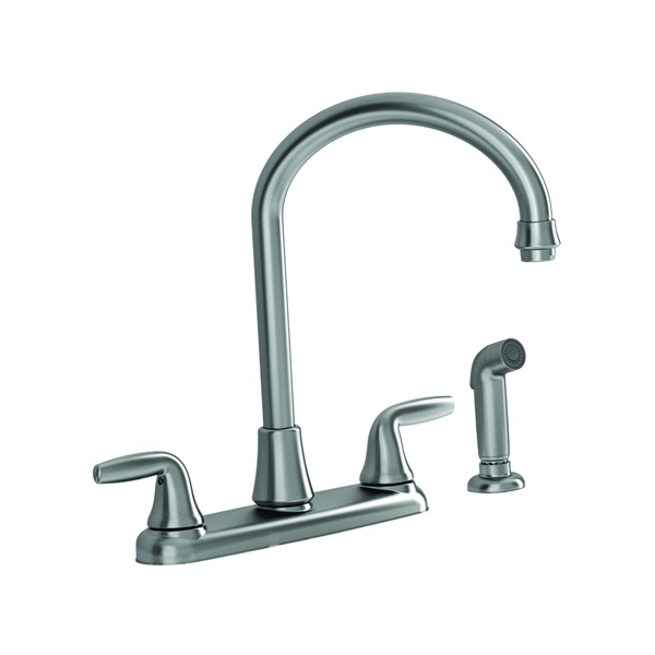 Picture of American Standard Jocelyn 9316.451.075 Kitchen Faucet with Side Spray, 1.8 gpm, 2-Faucet Handle, Brass