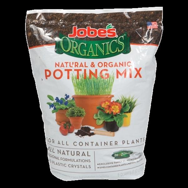 Picture of Jobes 08708P Potting Mix, 8 qt Package, Bag