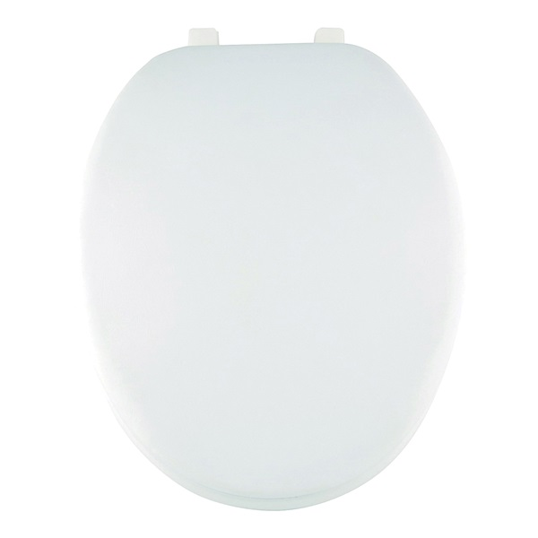 Picture of ProSource ES001-WH Toilet Seat, Elongated, White