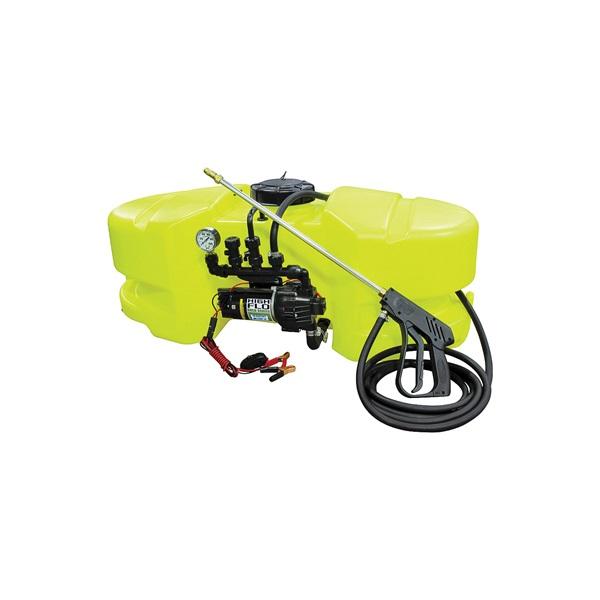Picture of AG SOUTH Gold SC25-ATV-DX-T-NS ATV Sprayer, 25 gal Capacity, 15 ft L Hose