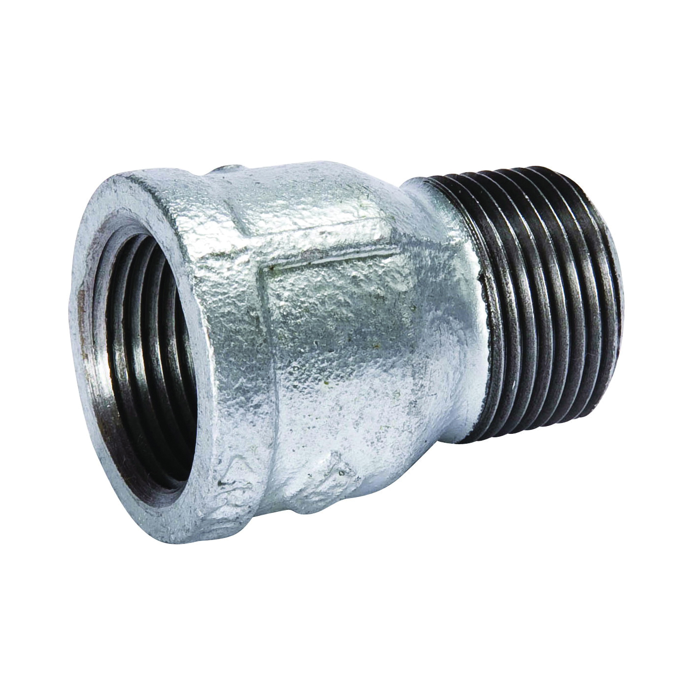 Picture of B & K 511-613 Galvanized Pipe Extension Piece, 1/2 in