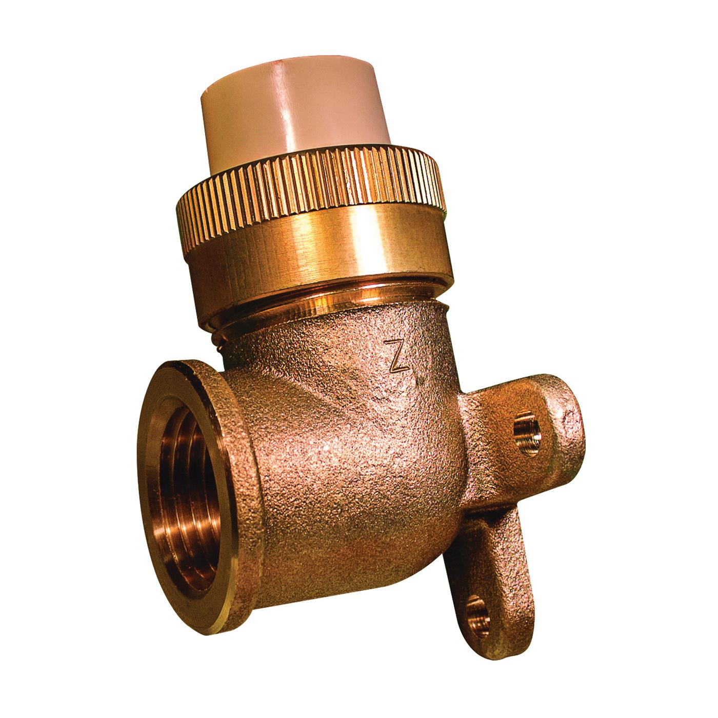 Picture of GENOVA 500 53071Z Pipe Elbow, 1/2 in, Slip-Joint x FIP, 90 deg Angle, CPVC, 400 psi Pressure