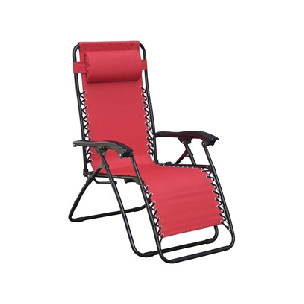 Picture of Seasonal Trends F5325O-1BKOX17 Adjustable Relaxer, 25.59 in W, 63.75 in D, 44 in H, 250 lb Capacity, Fabric Seat