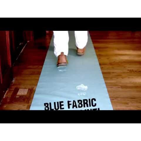 Picture of Trimaco ONE TUFF 90039 Drop Cloth, 15 ft L, 12 ft W, Sontara Fabric, Blue
