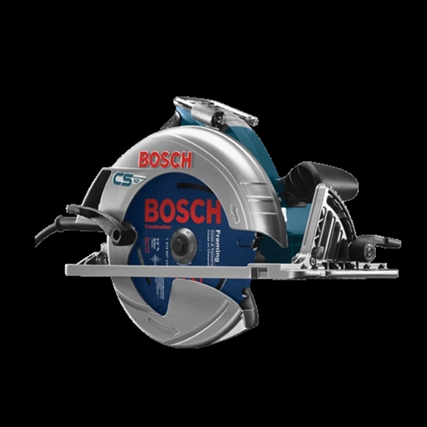 Picture of Bosch CS10 Circular Saw, 120 V, 15 A, 1800 W, 7-1/4 in Dia Blade, 5/8 in Arbor, 56 deg Bevel