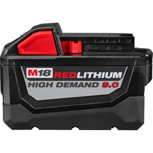 Picture of Milwaukee 48-11-1890 Battery Pack, 18 V Battery, 9 Ah