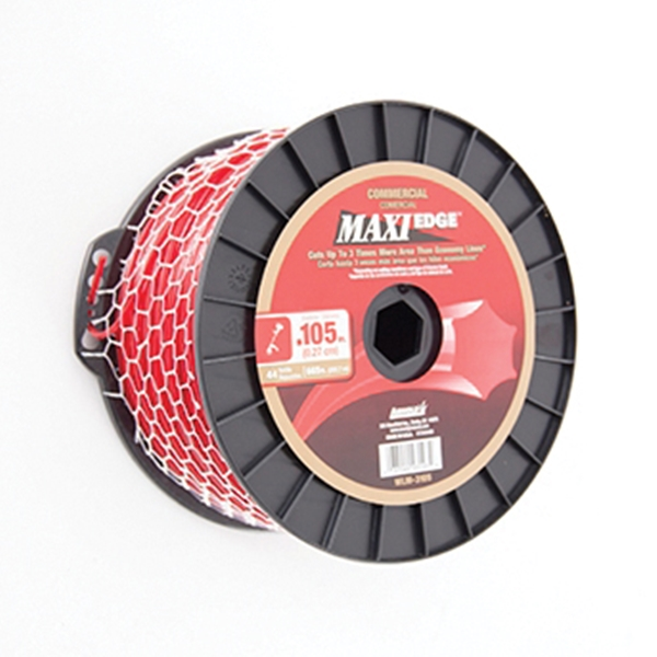 Picture of ARNOLD Maxi Edge WLM-3105 Trimmer Line Spool, 0.105 in Dia, 665 ft L, Polymer