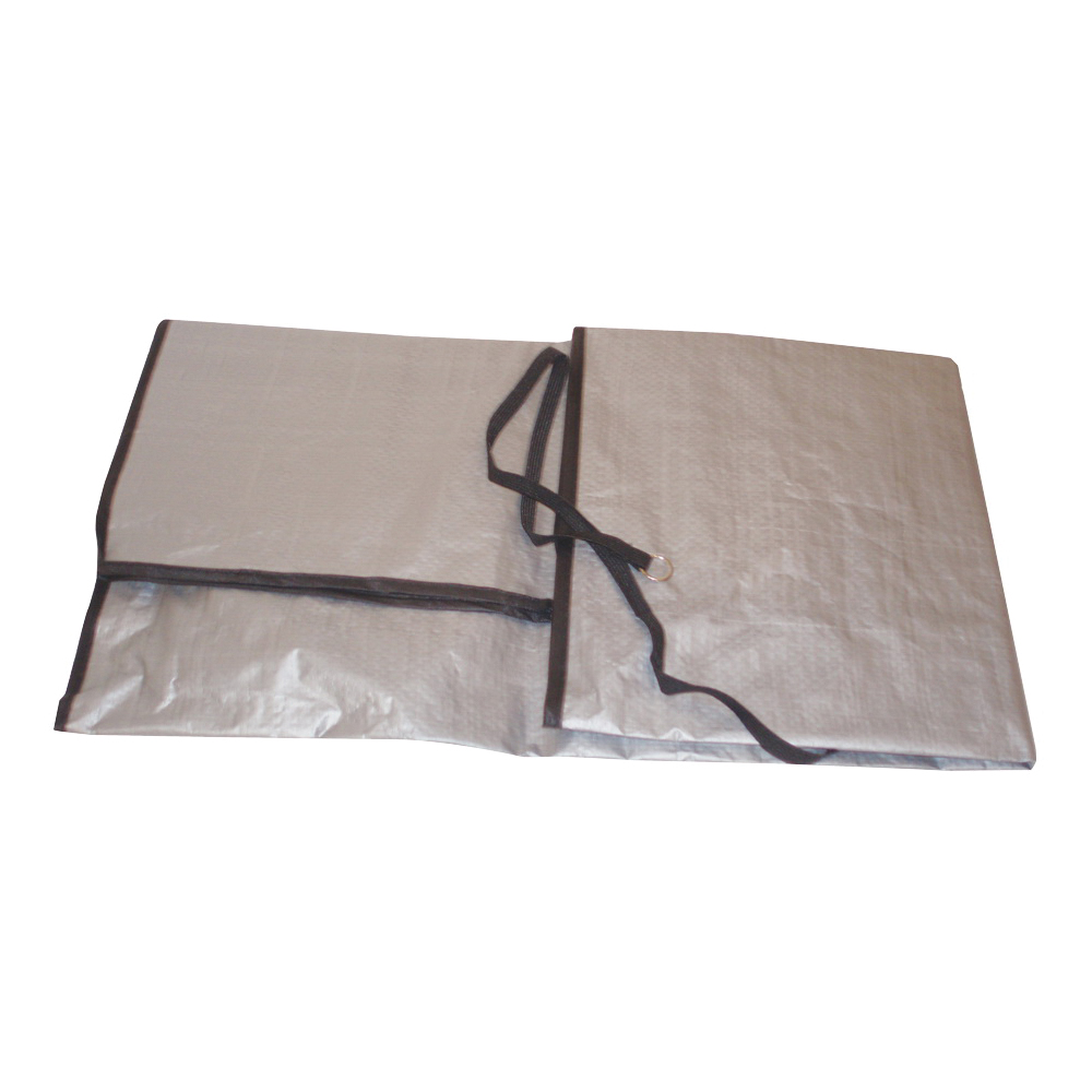 Picture of Frost King CC30XH Air Conditioner Cover, 30 in L, 34 in W, 9 mil Thick Material, Polyethylene, Gray