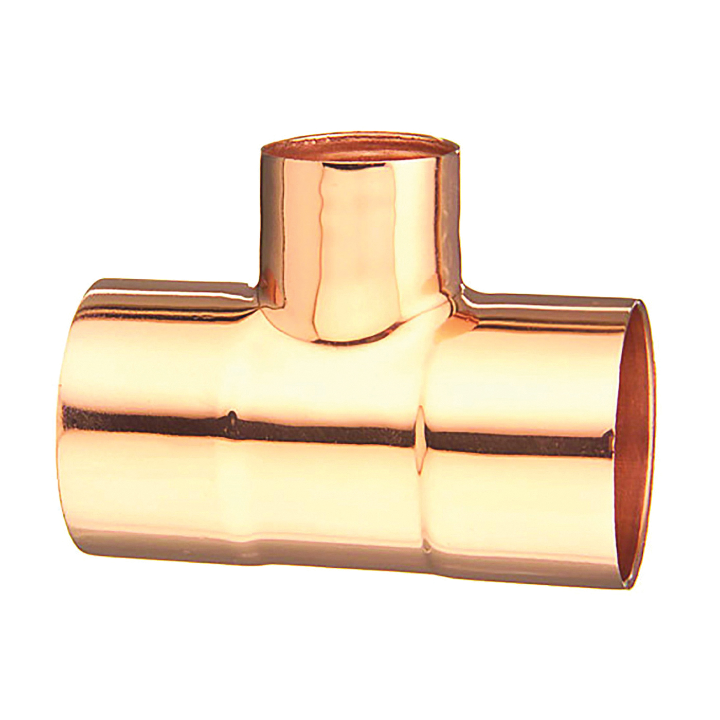 Picture of EPC 111R Series 32916 Pipe Reducing Tee, 1-1/2 x 1-1/2 x 1 in, Sweat, Copper