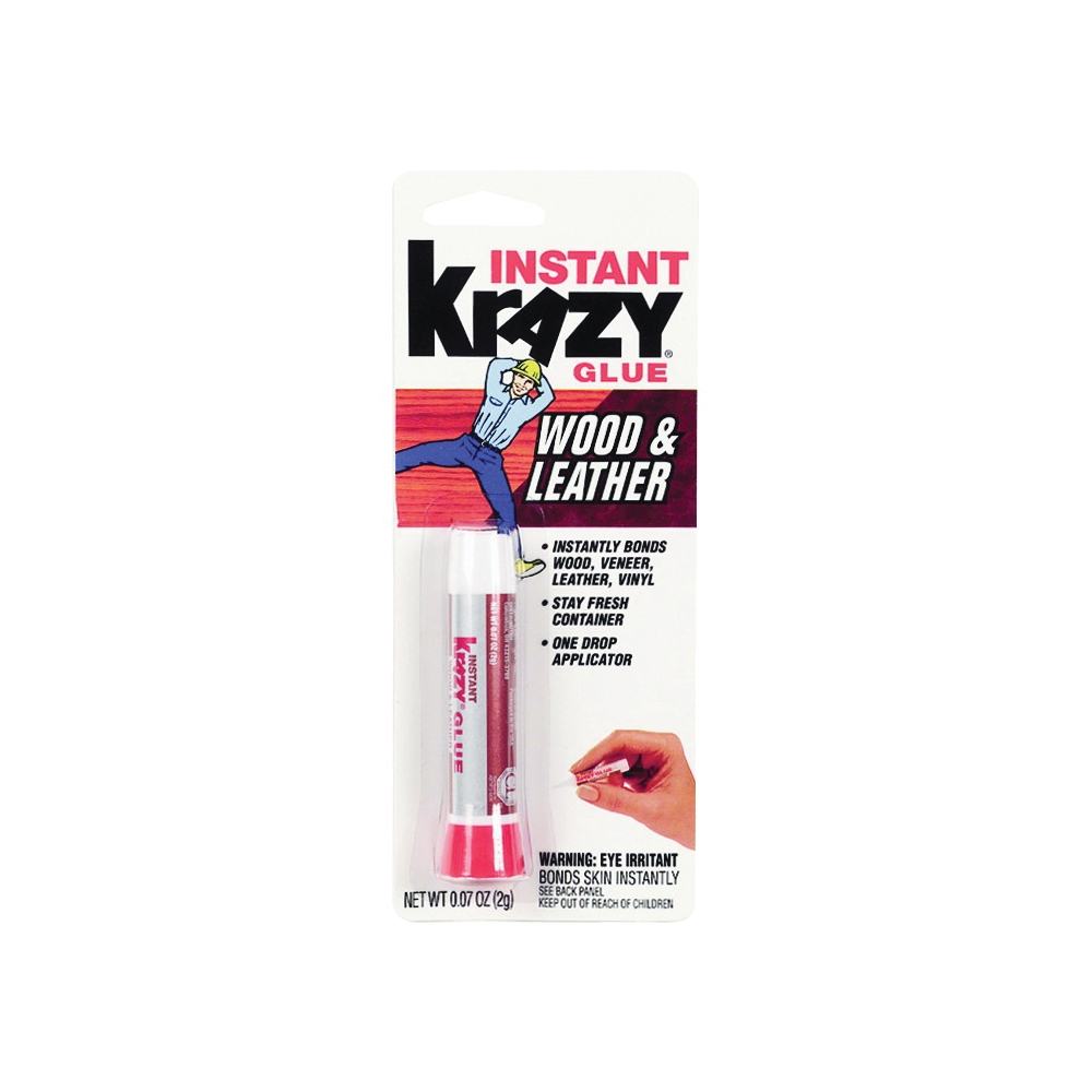 Picture of Krazy Glue KG82148R Maximum Bond Glue, Liquid, Irritating, Clear, 2 g Package, Pen