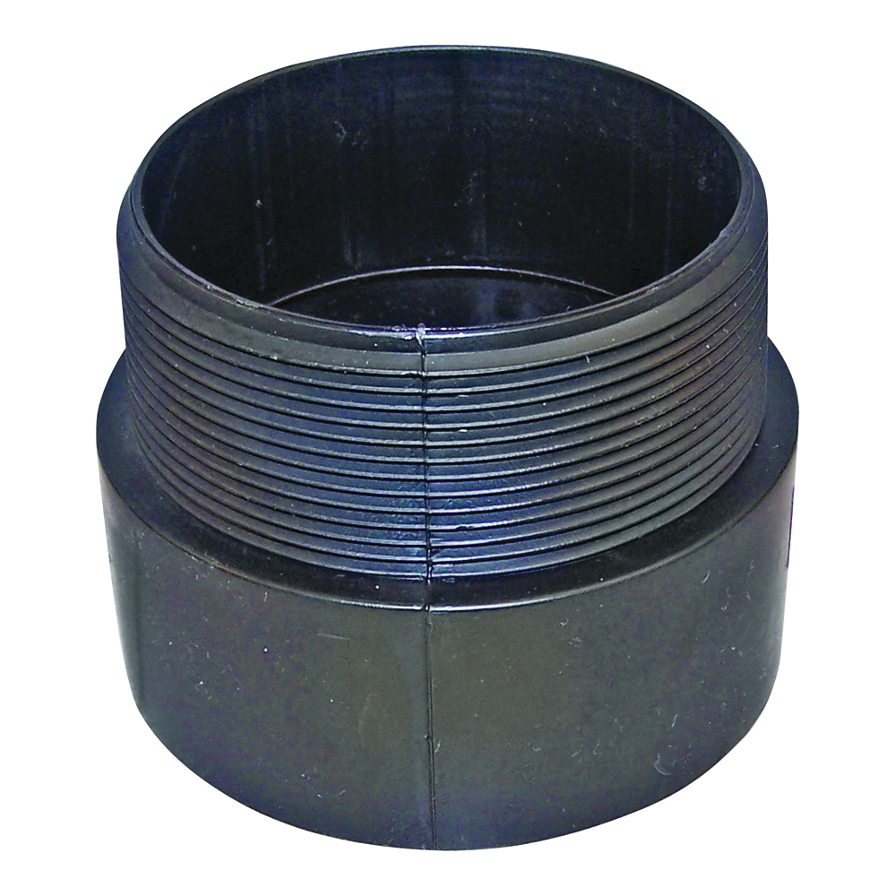 Picture of GENOVA 800 80440 Pipe Adapter, 4 in, Hub x MIP, ABS, SCH 40 Schedule