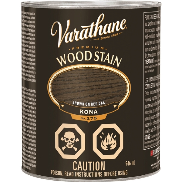 Picture of VARATHANE 266668 Wood Stain, Kona, 946 mL