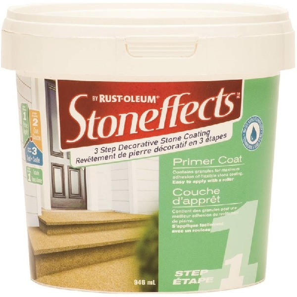 Picture of RUST-OLEUM Stoneffects N5100145P Primer, White, 946 mL