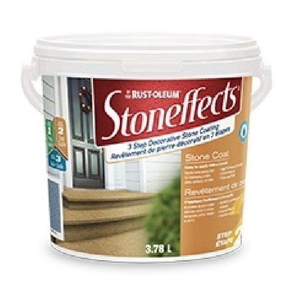 Picture of RUST-OLEUM Stoneffects N5215155P Stone Coating, Liquid, 3.78 L Package, Pail