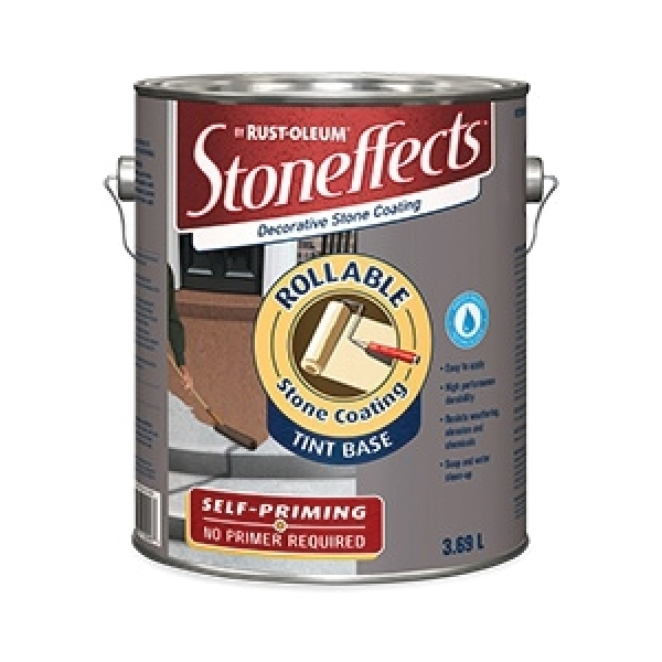 Picture of RUST-OLEUM N5700155P Rollable Stone Coating, Liquid, Solvent, 3.69 L Package, Pail