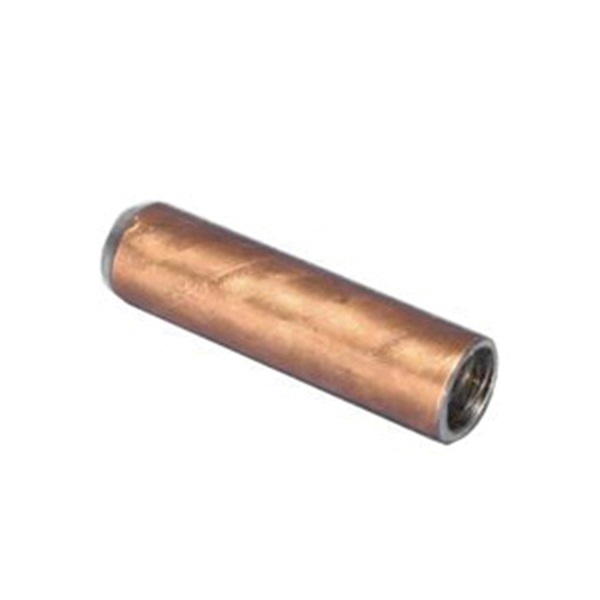 Picture of nVent ERICO EDS58 Drive Sleeve, Galvanized Stainless Steel, Copper