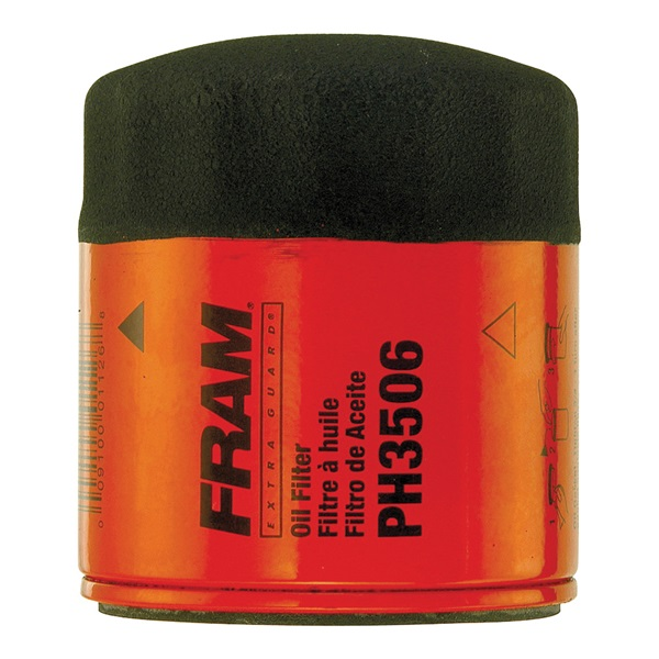 Picture of FRAM PH3506 Full-Flow Lube Oil Filter, 13/16-16 Connection, Threaded, Cellulose, Synthetic Glass Filter Media