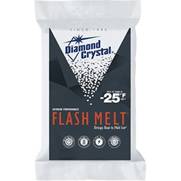 Picture of Cargill Flash Melt 100011546 Ice Melter Salt, Granular, White, Strong Bitter, 50 lb Package, Bag