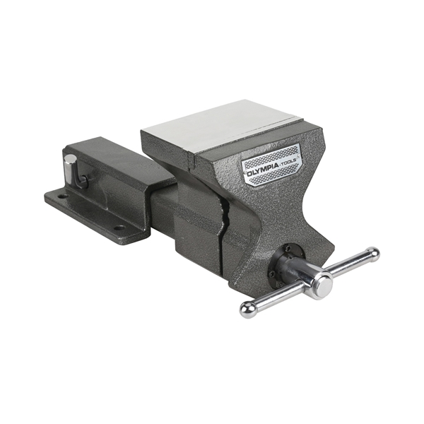 Picture of Olympia Tools 38-652 Hitch Vise, 5.7 in Jaw Opening, 6 in W Jaw, 4-1/2 in D Throat, Cast Iron