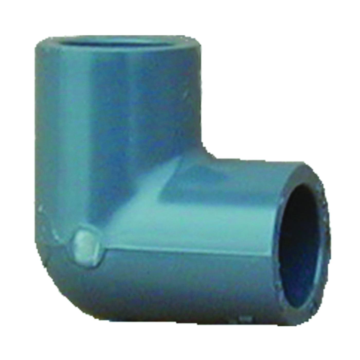Picture of GENOVA 300 307078 Pipe Elbow, 3/4 in, Slip, 90 deg Angle, PVC, Gray, SCH 80 Schedule
