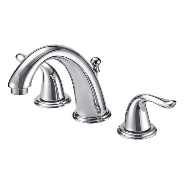 Picture of Boston Harbor TQ-FW6B0000CP Lavatory Faucet, 1.2 gpm, 2-Faucet Handle, Metal, Chrome, Lever Handle