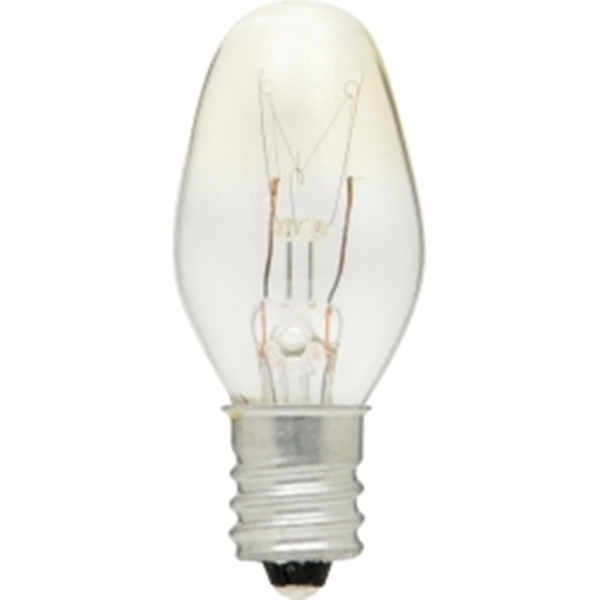 Picture of Sylvania 13523 Incandescent Lamp, 4 W, Candelabra E12 Lamp Base, 2850 K Color Temp, 6000 hr Average Life