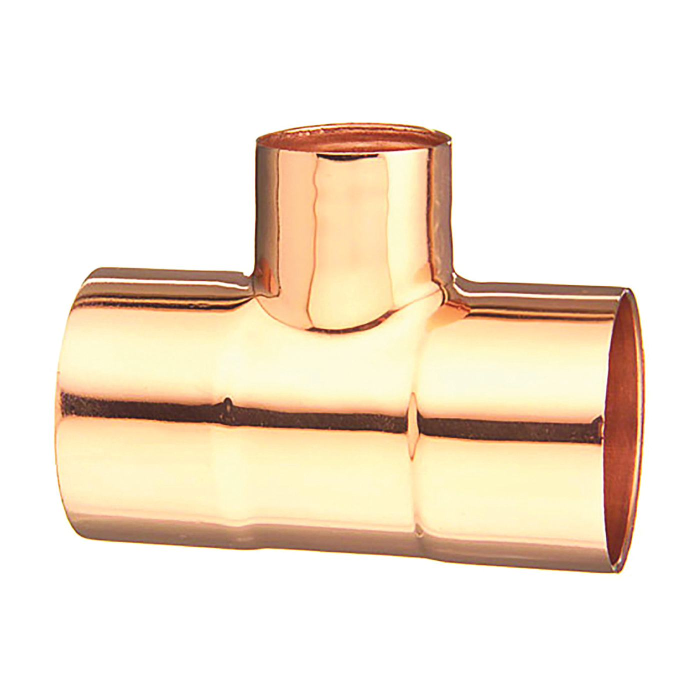 Picture of EPC 111R Series 32828 Pipe Reducing Tee, 1 x 1 x 1/2 in, Sweat, Copper