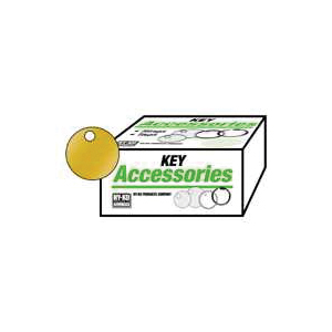 Picture of HY-KO KB148 Key Tag, Round, Brass