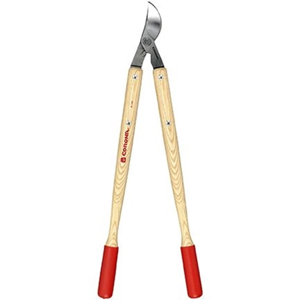 Picture of CORONA CLIPPER WL 3351 Bypass Lopper, 1-1/2 in Cutting Capacity, Resharpenable Blade, Steel Blade, Hardwood Handle