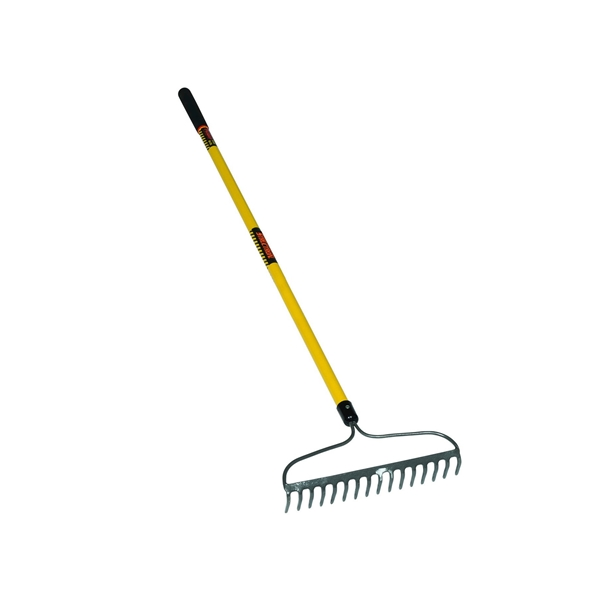 Picture of Structron S800 SuperDuty Series 42366 Bow Rake, 3 in L Head, 16 in W Head, 16 -Tine, Steel Tine, Steel Head