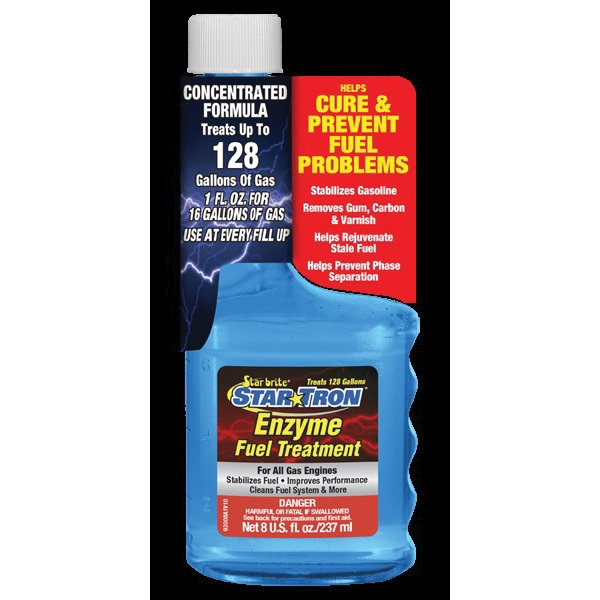 Picture of Star brite Star Tron 93016 Enzyme Fuel Treatment Clear, 16 oz Package, Bottle