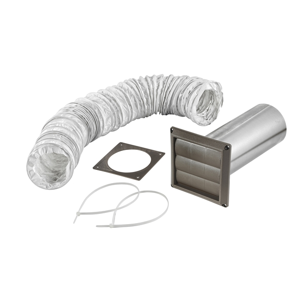 Picture of Lambro 264B Vent Kit, Louvered, 5-Piece, Box