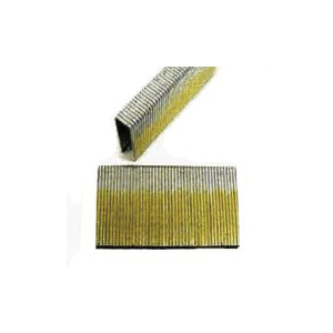 Picture of ProFIT 0718132 Crown Staple, 1/4 in W Crown, 1-1/4 in L Leg, 18 Gauge, Electro-Galvanized, 4000, Box