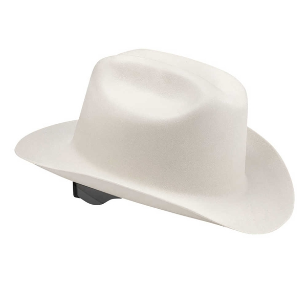 Picture of JACKSON SAFETY SAFETY 3010943 Hard Hat, 10 x 6 x 10 in, 4-Point Suspension, HDPE Shell, White, Class: C, E, G