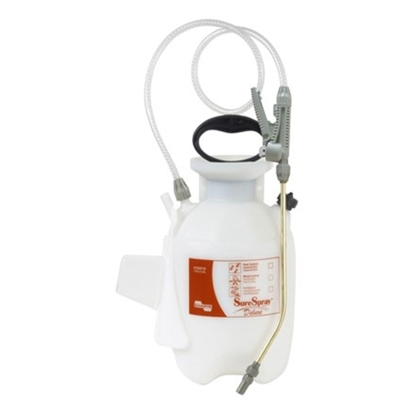 Picture of CHAPIN SureSpray 26010 Compression Sprayer, 1 gal Tank, Poly Tank, 34 in L Hose
