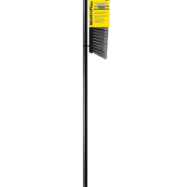 Picture of Simple Spaces 3018 Push Broom, 18 in L Trim, Fiber Bristle, Threaded